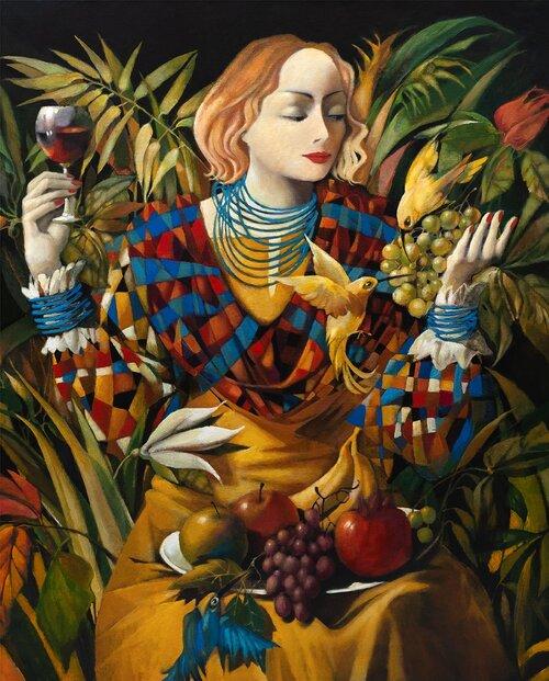 Konstnär Olga Semenova