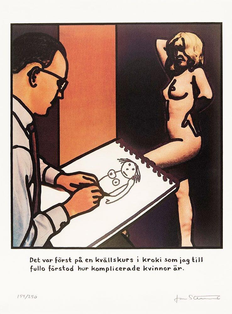 Konstnär Jan Stenmark