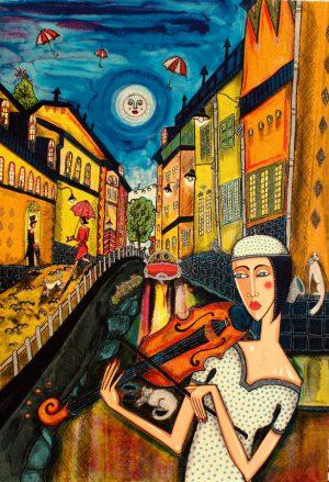 Konstnär Angelica Wiik